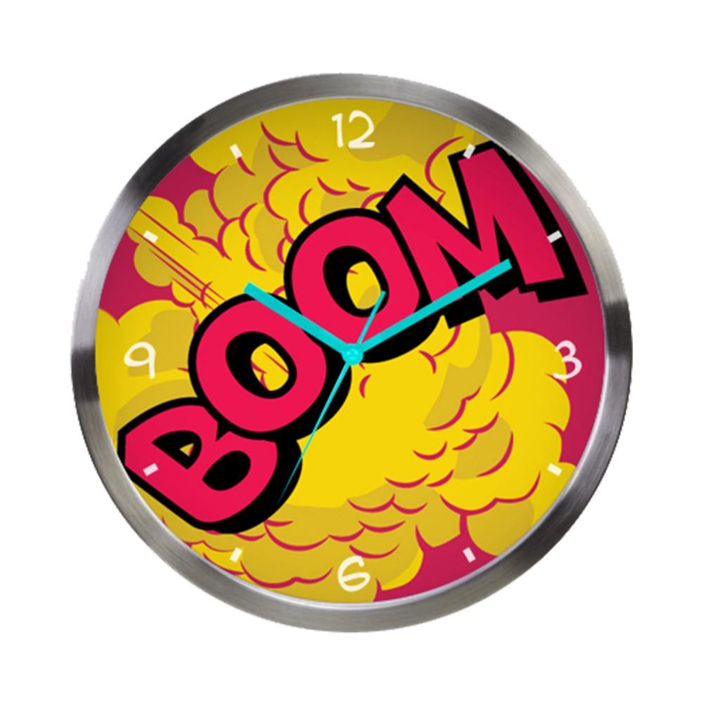 Relógio de Parede DC Boom 30cm