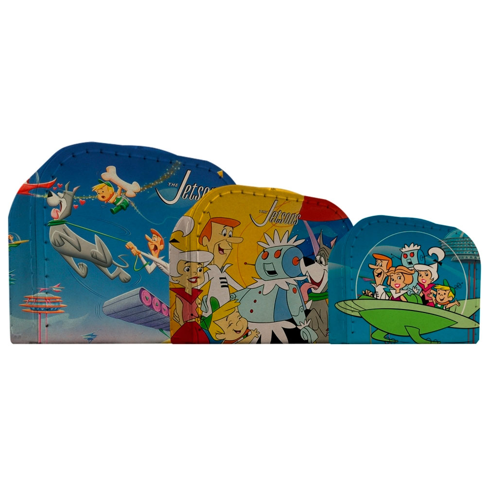 Set 03 Maletas Papelão HB Jetsons All Caracthers