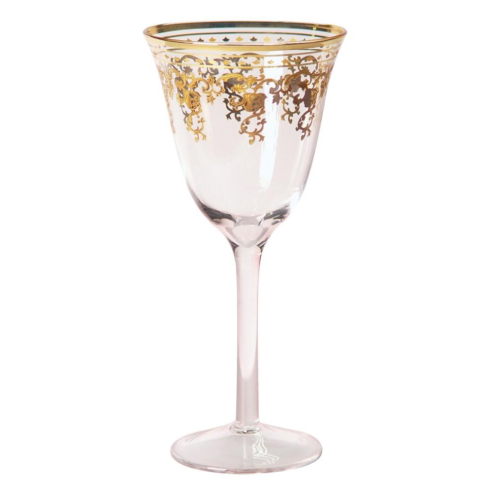 Taças De Vinho De Vidro Cristalino 285ml 6 Peças