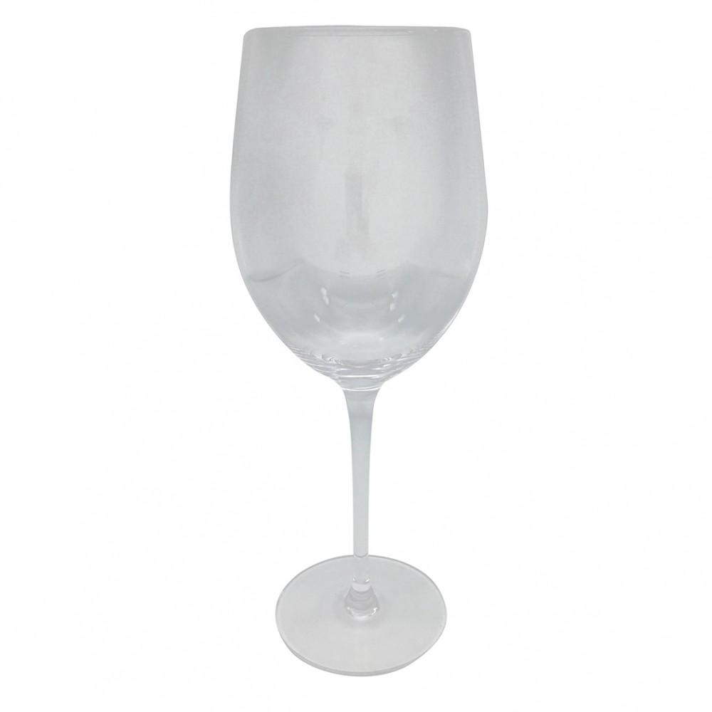 Taças De Vinho De Vidro Cristalino 385ml 6 Peças