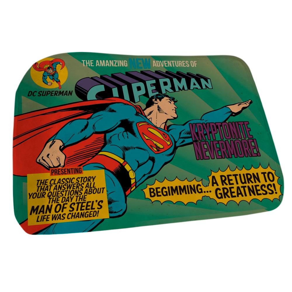 Tapete Poliéster Floffy DC Superman Flying