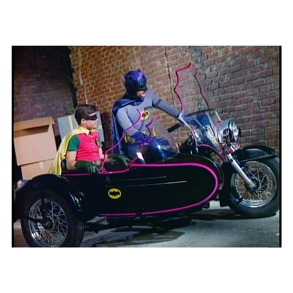 Tela Movie Batman And Robin Side Bike