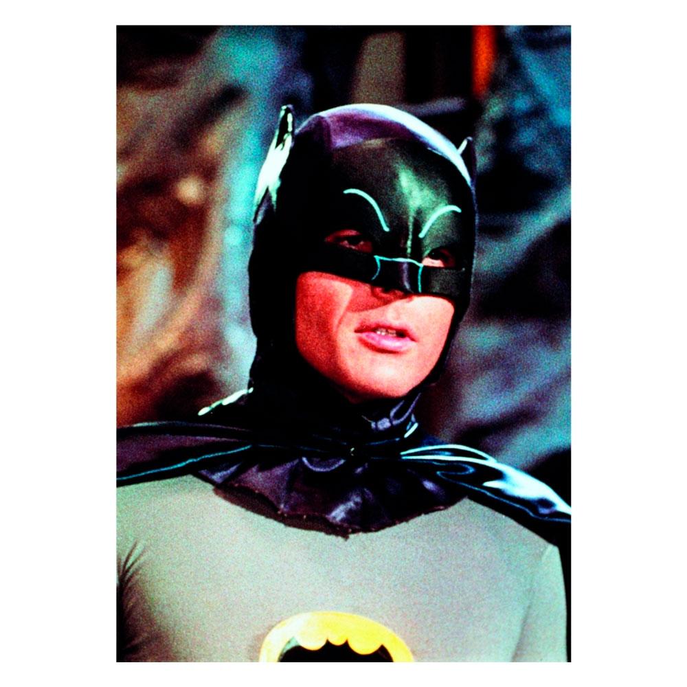 Tela Movie Batman Half Body Preto Cinza