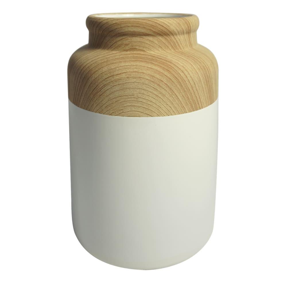 Vaso Decorativo de Resina 24cmx17cmx17cm