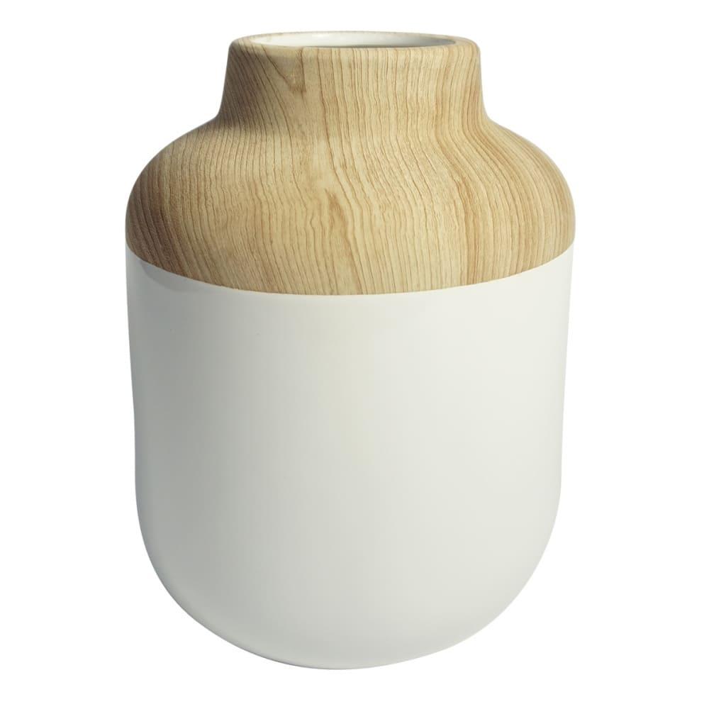 Vaso Decorativo de Resina 25cmx18cmx18cm