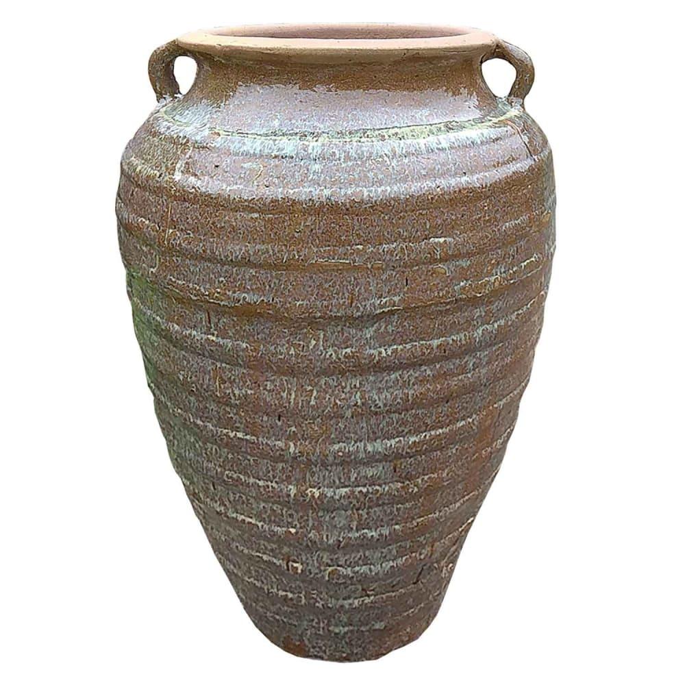 Vaso Vietnamita Cerâmica Grande 75cmx50cmx50cm