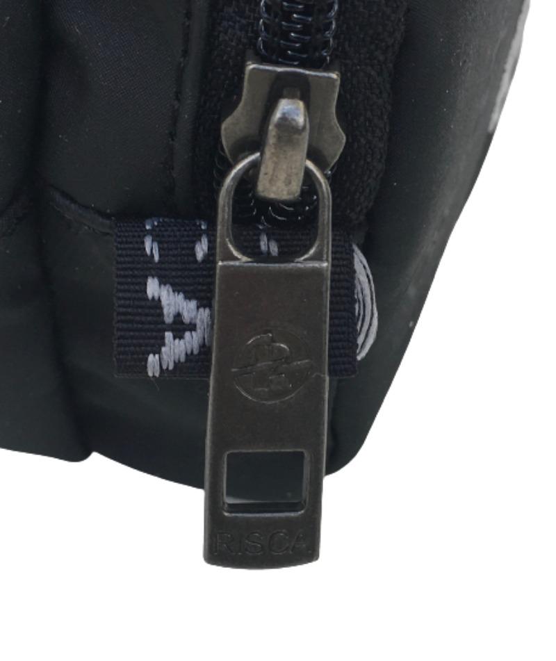 Kit 2 Necessaires  Estojo Duplo RISCA 5020 - Preto