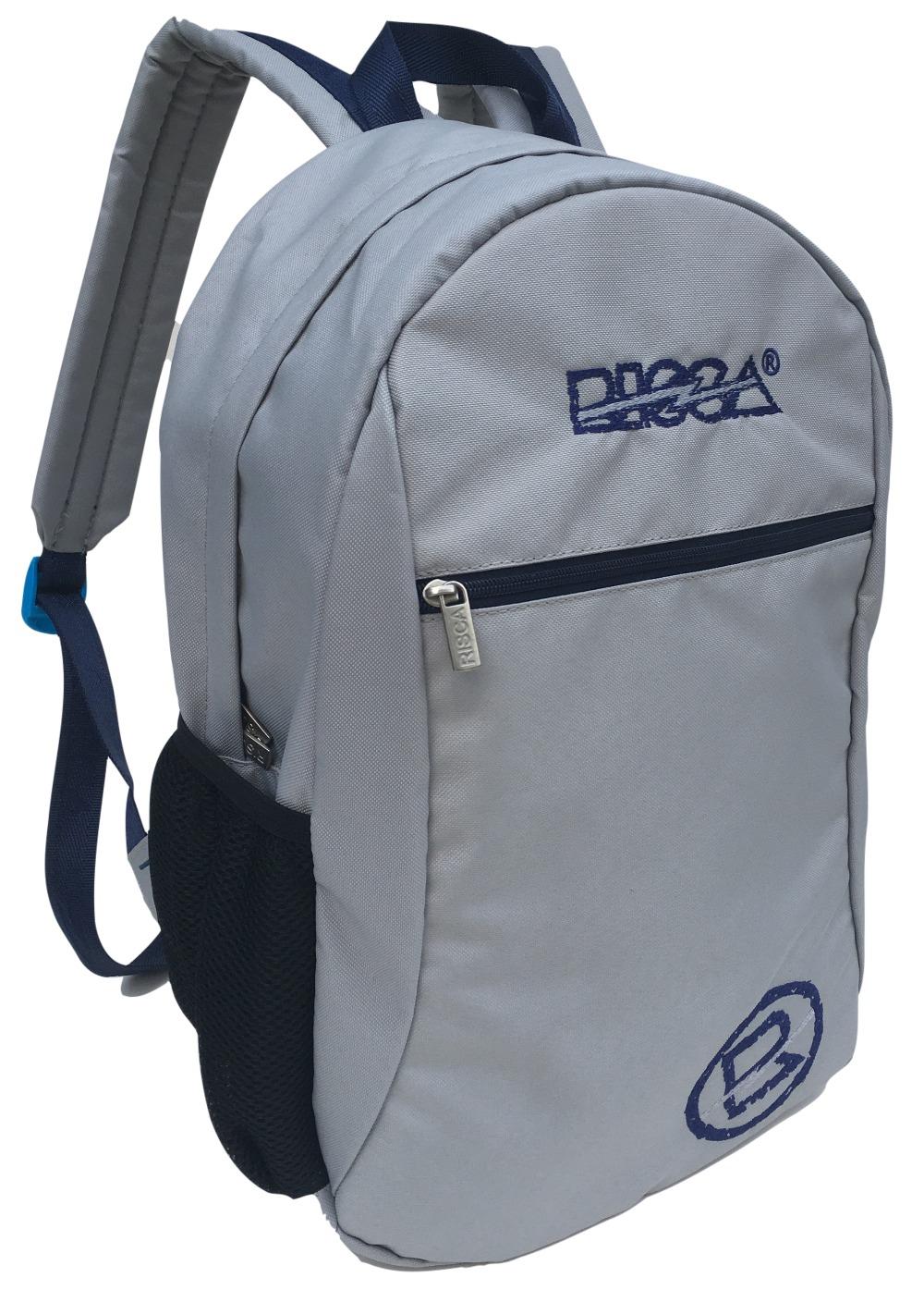 Mochila Risca 1169 - Cz Prata/Azul