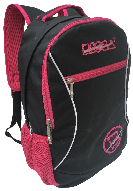 Mochila Risca 9054  - Preta / Pink