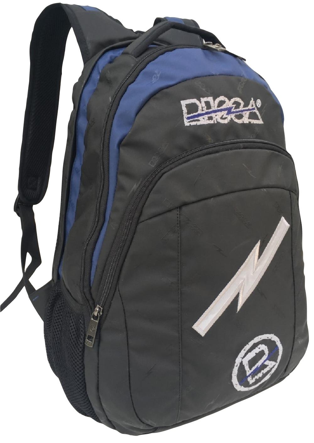 Mochila Risca 9068 - Preta/Azul