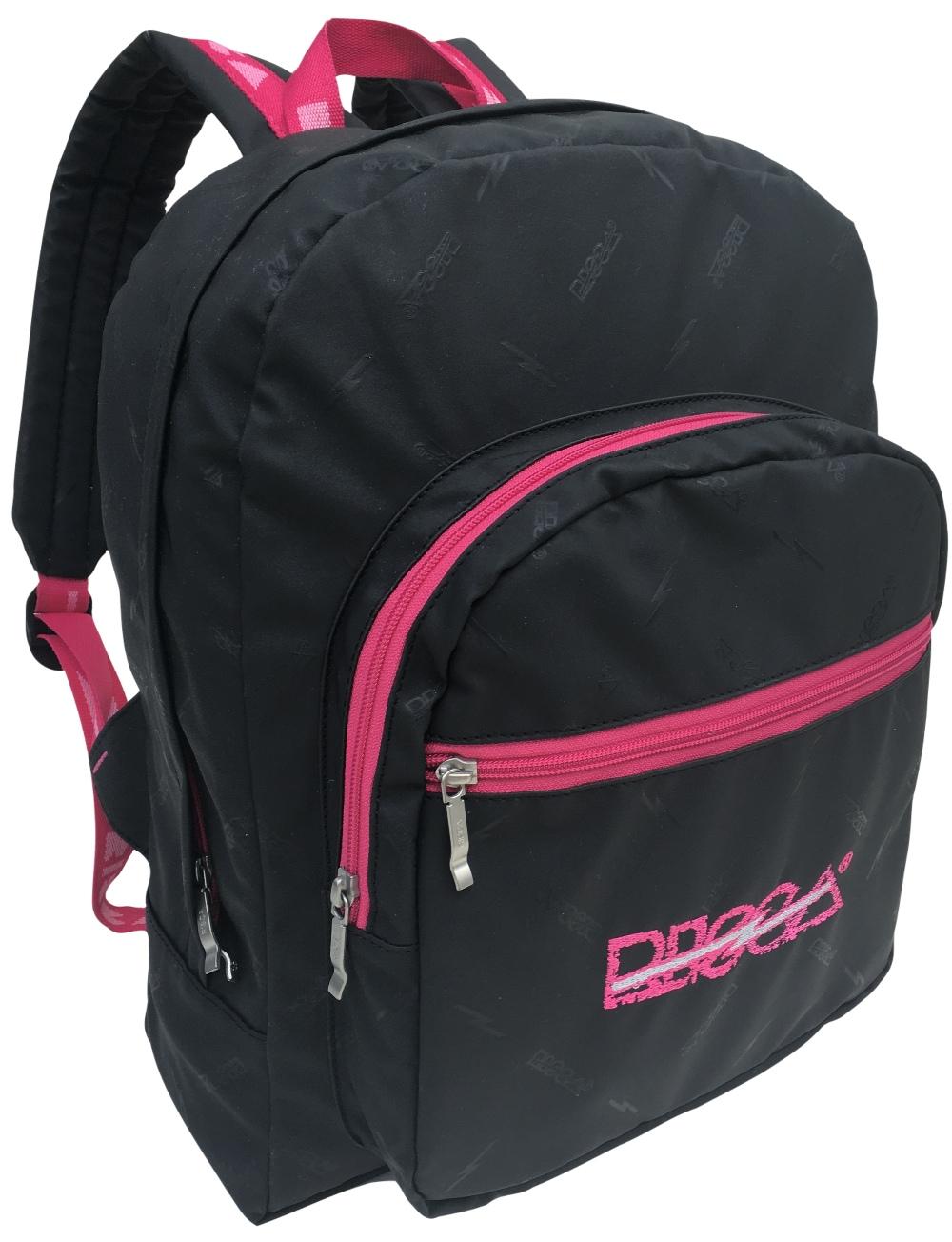 Mochila Risca 9070 - Preta / Pink