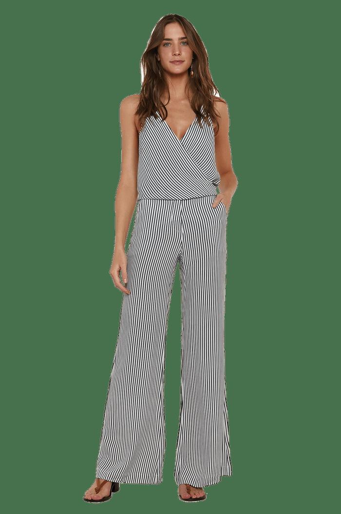 Calça Pantalona Listrada- Vix