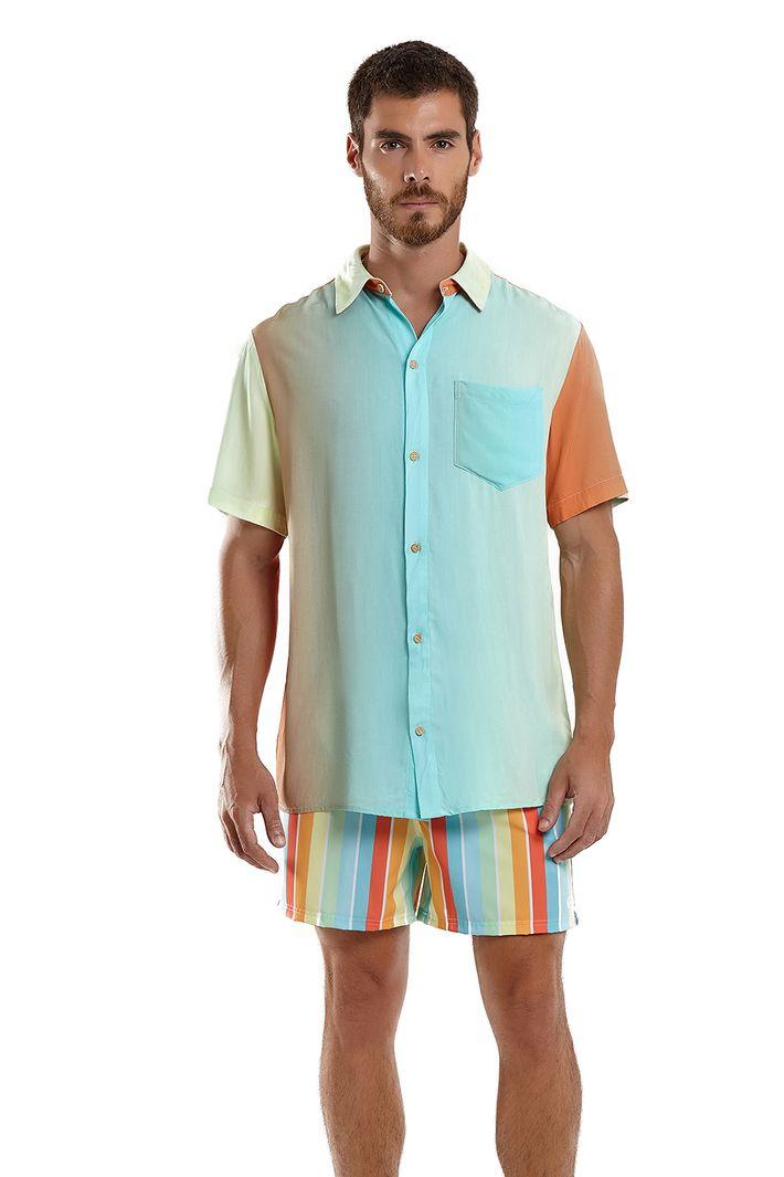 Camisa Florida Espirito Blue Man