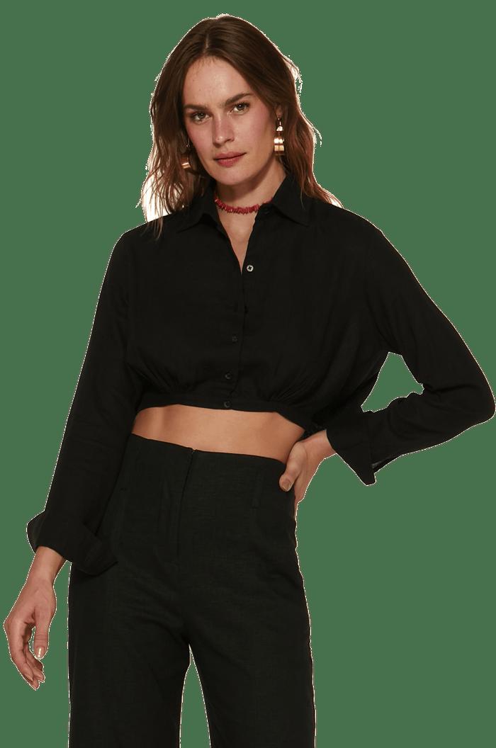 Camisa social curta VIX/SOFIA