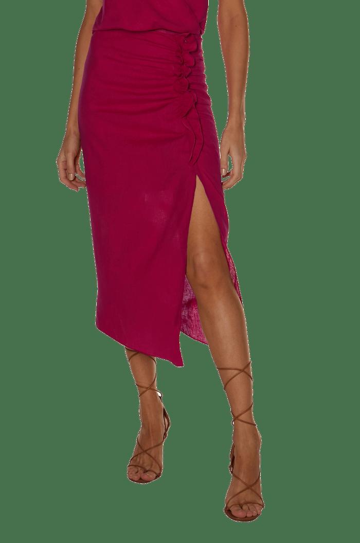 Saia VIX Solid Lily Skirt