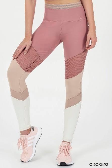 Calça Legging Alto Giro
