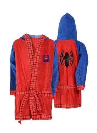 Roupão Masculino Infantil Spider Man