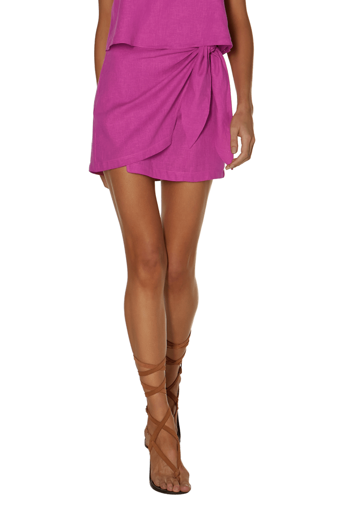 Saia Vix Bubblegum Rai Mini Skirt
