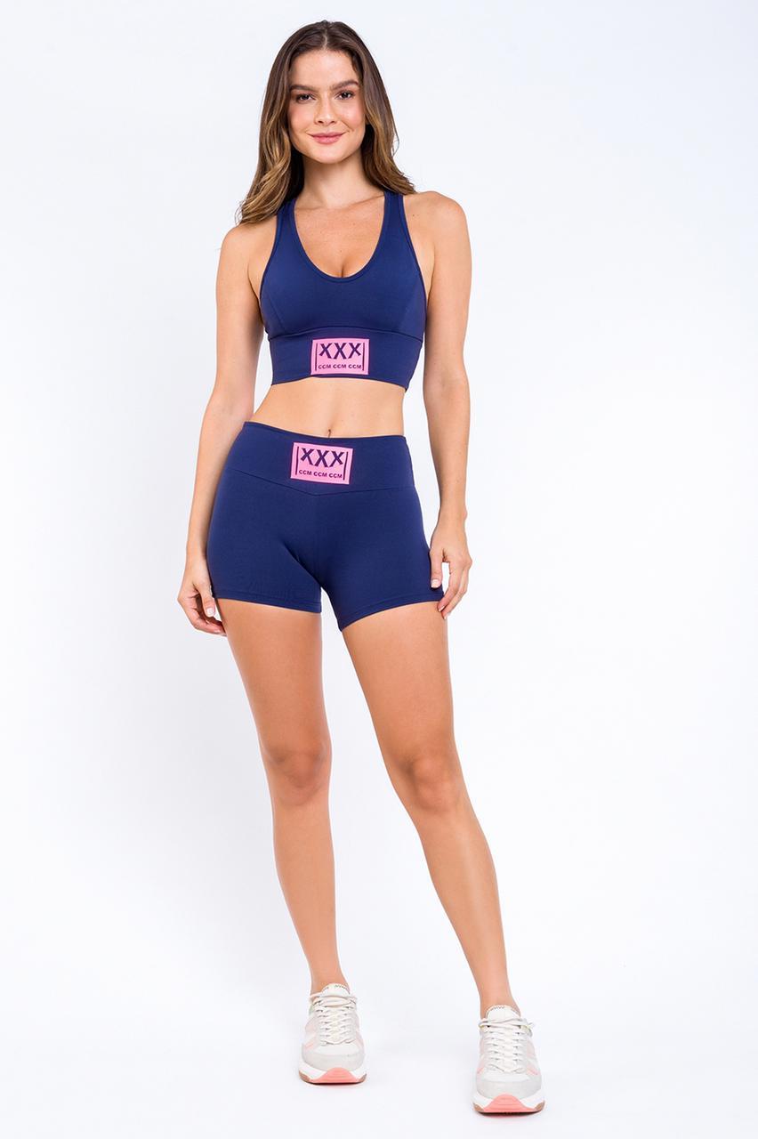 Shorts CCM Feminino Fitness Relaxamento