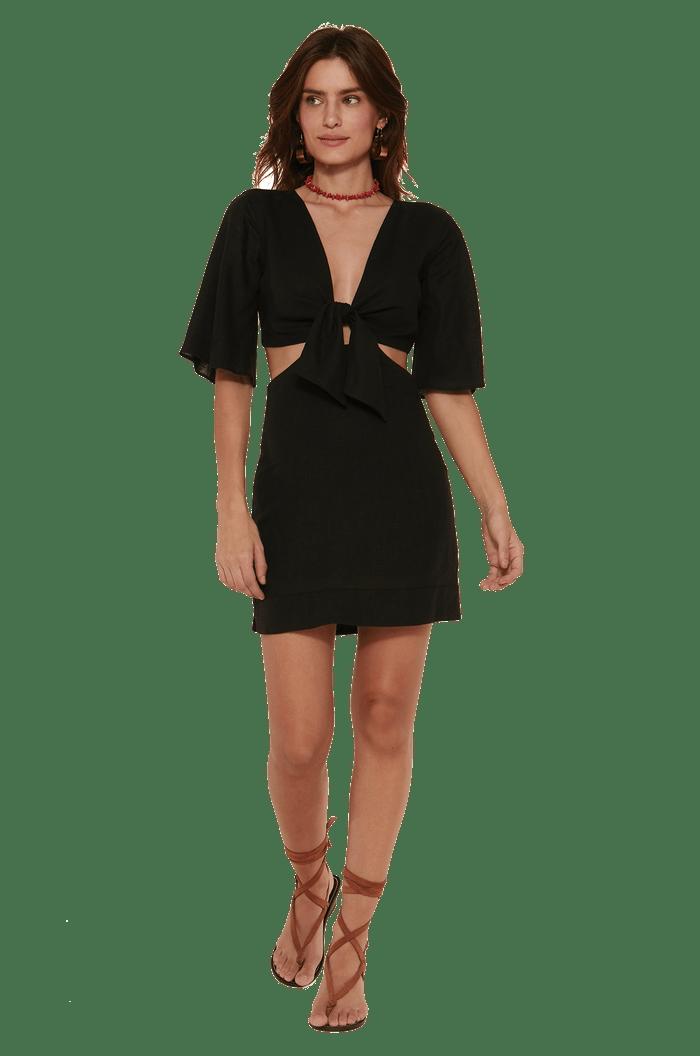 Vestido curto Vix