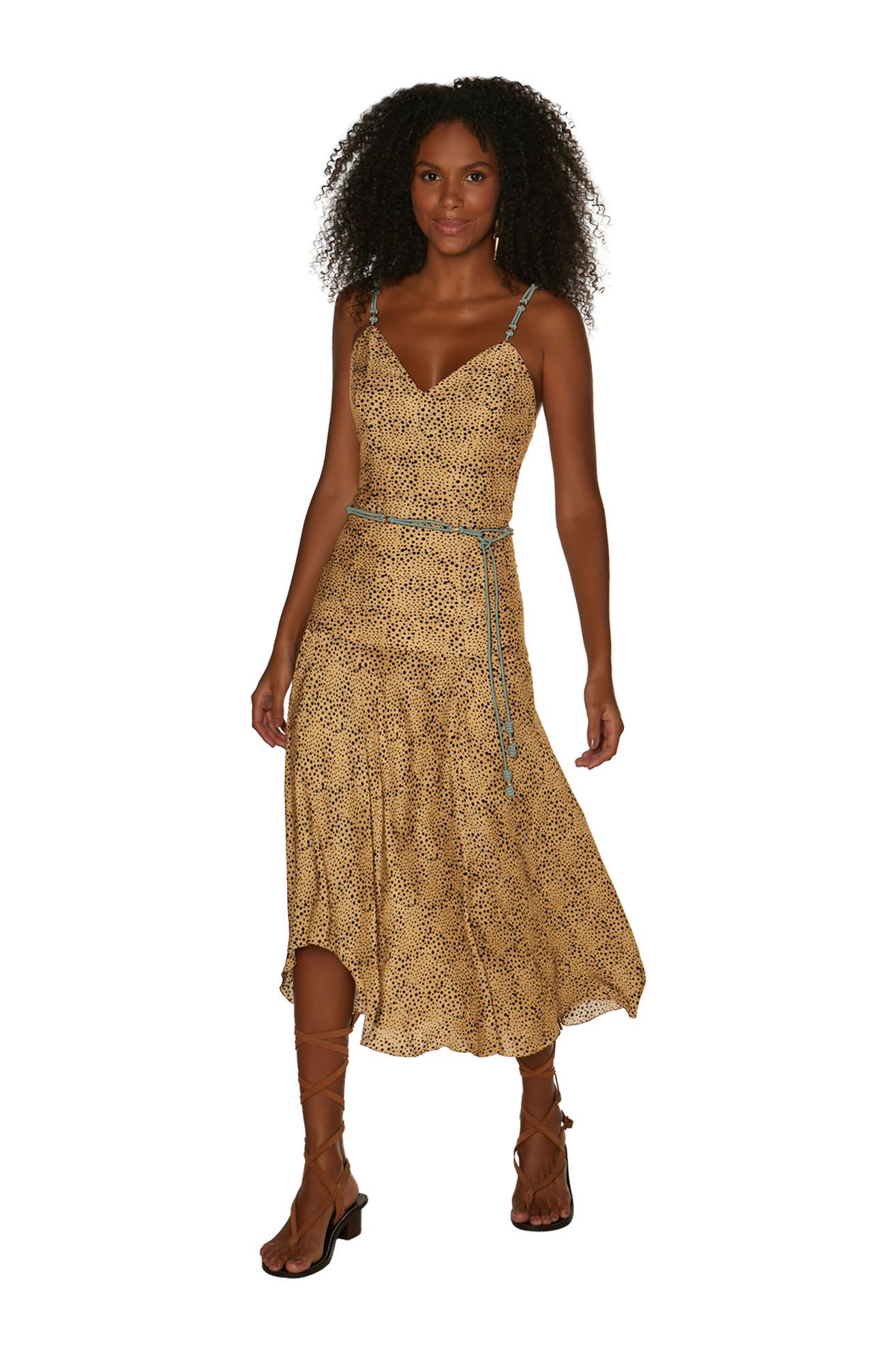 Vestido Vix Chidi Shaye Terry Midi Dress
