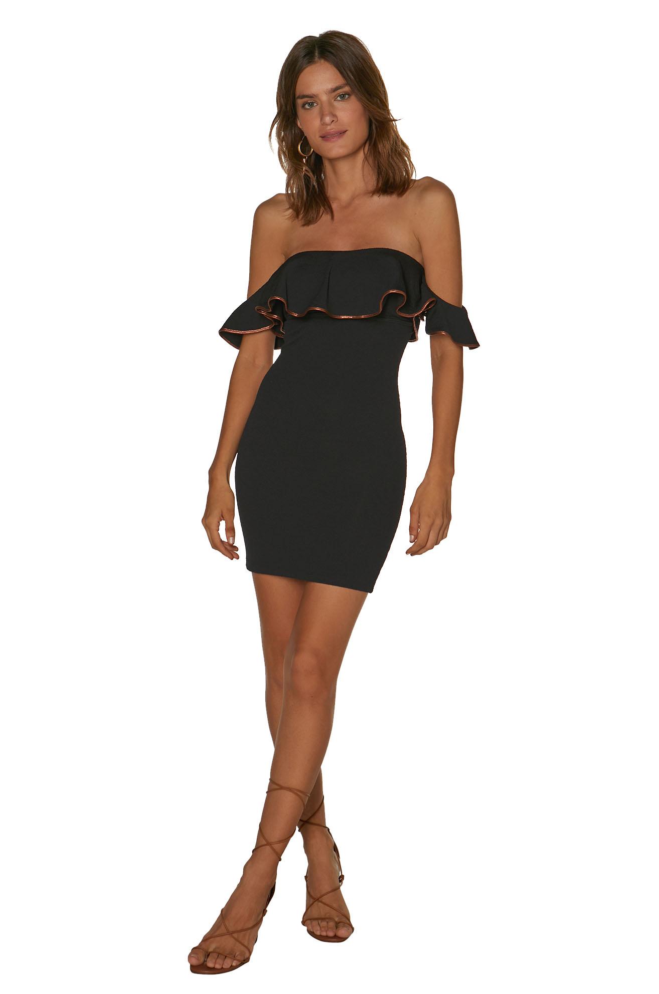 Vestido Vix Firenze Natlie Sh Dress