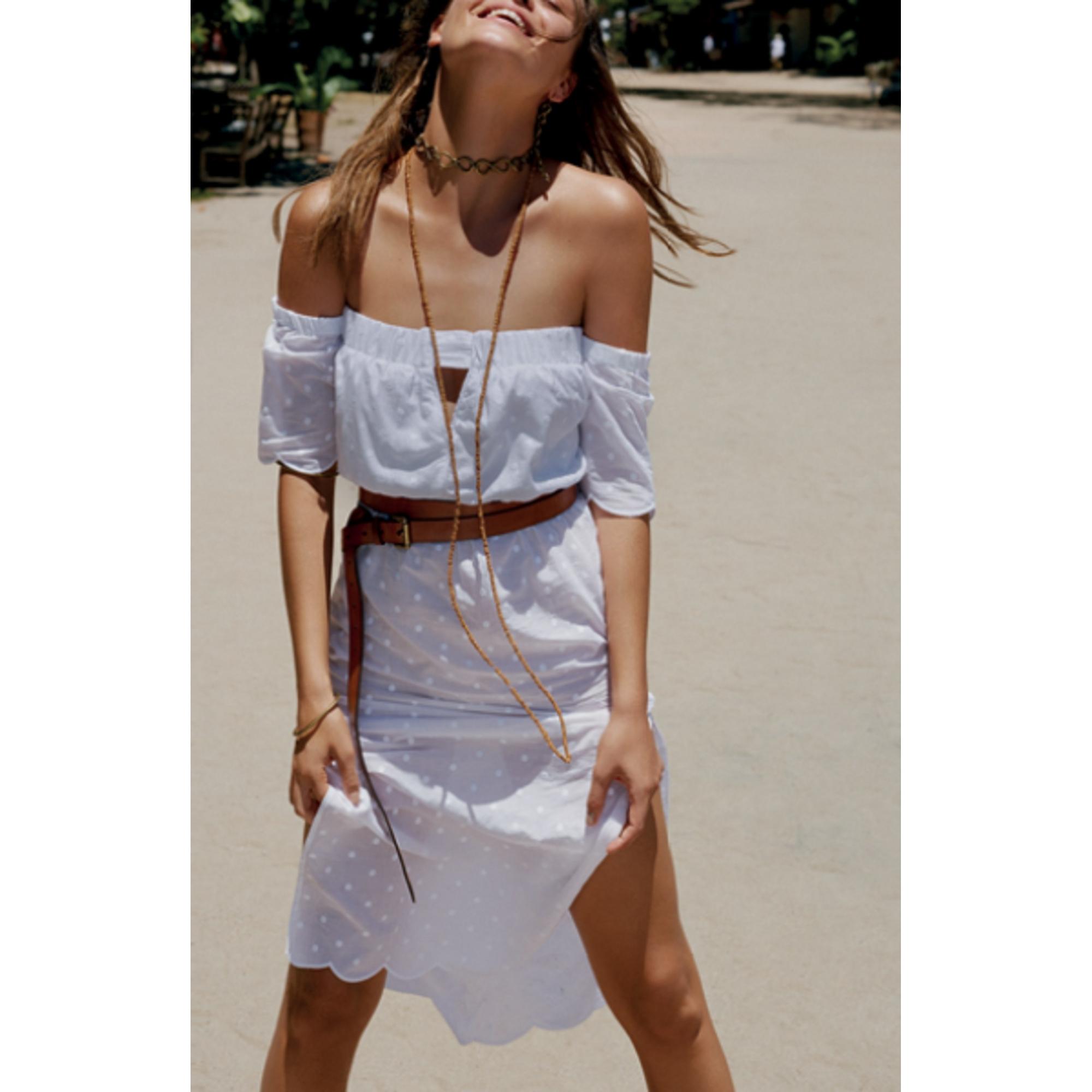Vestido Vix Solid Cordon Midi Dress