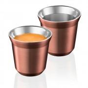 4 Xícaras Para Café Expresso Cup Le Cook Cobre