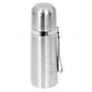 Kit com 2 Garrafas Térmicas Quente e Frio em Aço Inox de 350ml c/ Alça