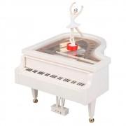 Caixinha Infantil de Música Piano de Cauda c/ Bailarina