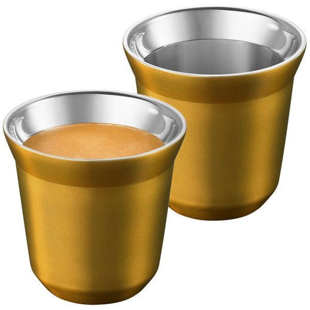 4 Xícaras Para Café Expresso Cup Le Cook Ouro