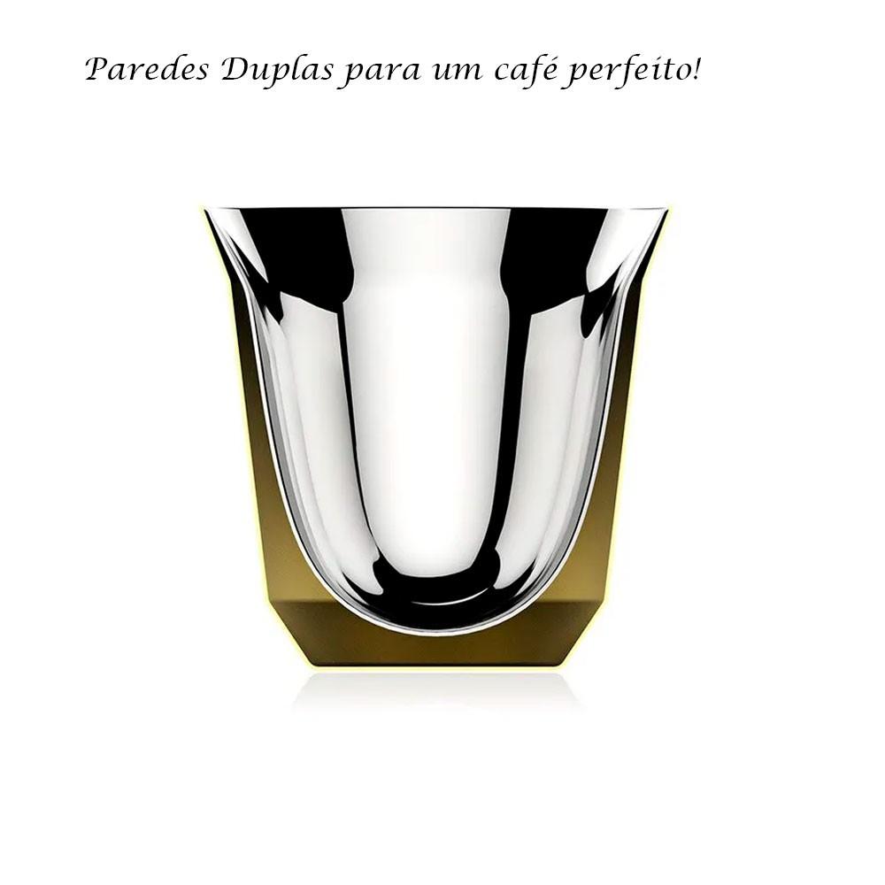 4 Xícaras Para Café Expresso Cup Le Cook Preta
