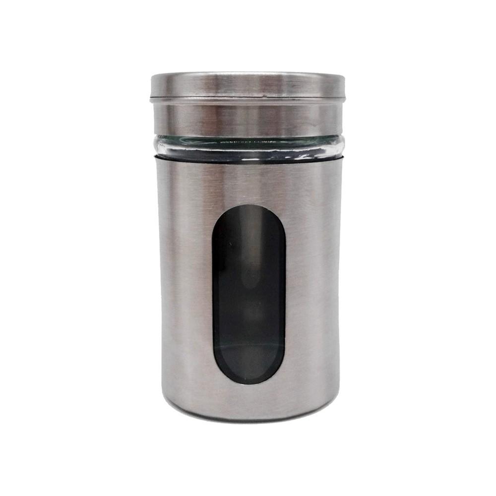 Kit com 6 Porta Condimentos com Visor