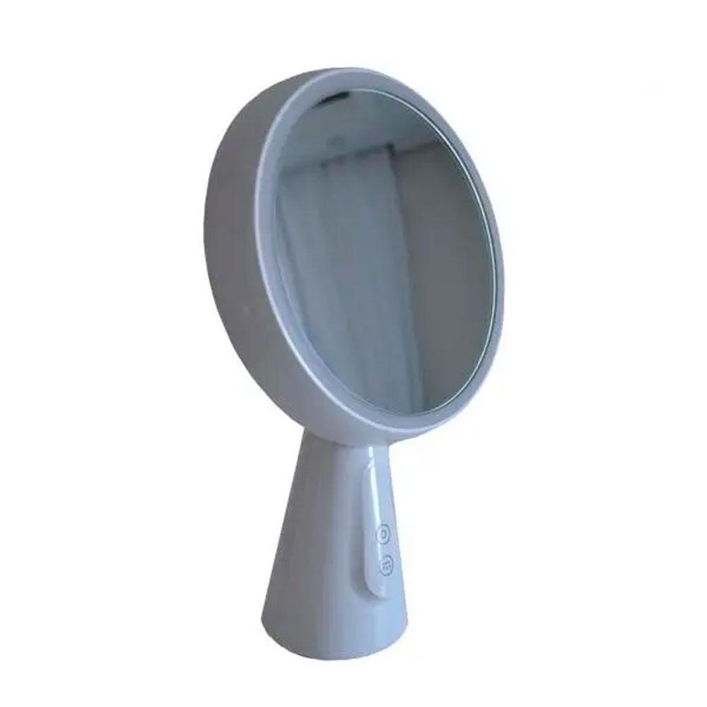 Luminária / Abajur de Mesa c/ Espelho Led USB Recarregável