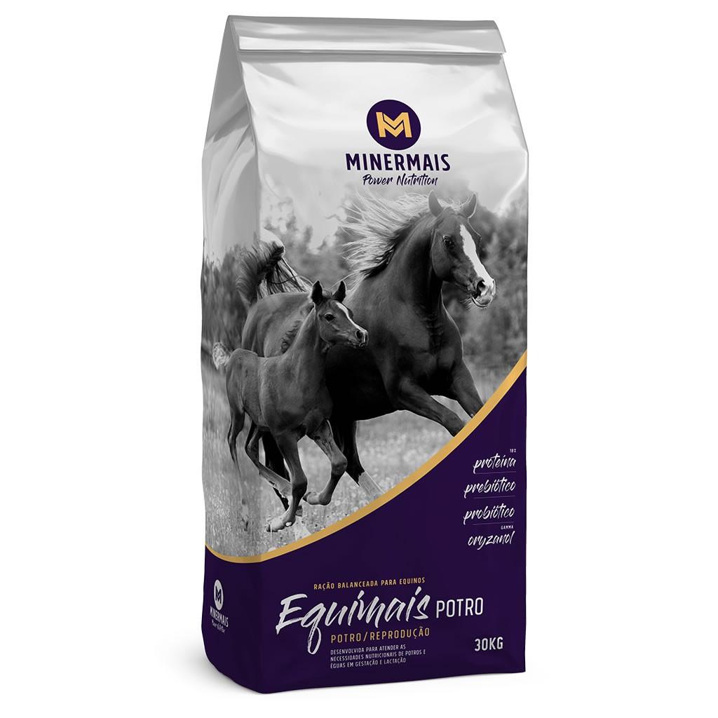 Ração para Cavalos EquiMais Potro Reprodução Minermais