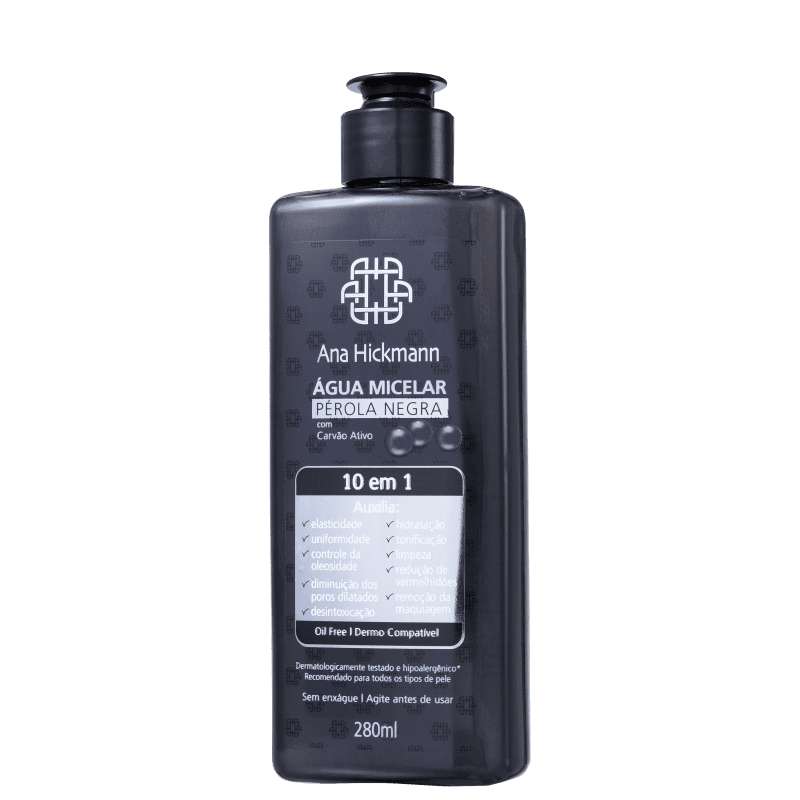 Agua Micelar Perola Negra Ana Hickmann 280ml