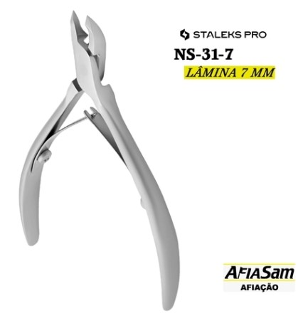 Alicate de Cuticula Staleks Pro - Serie Smart 30 - Ns-31-7