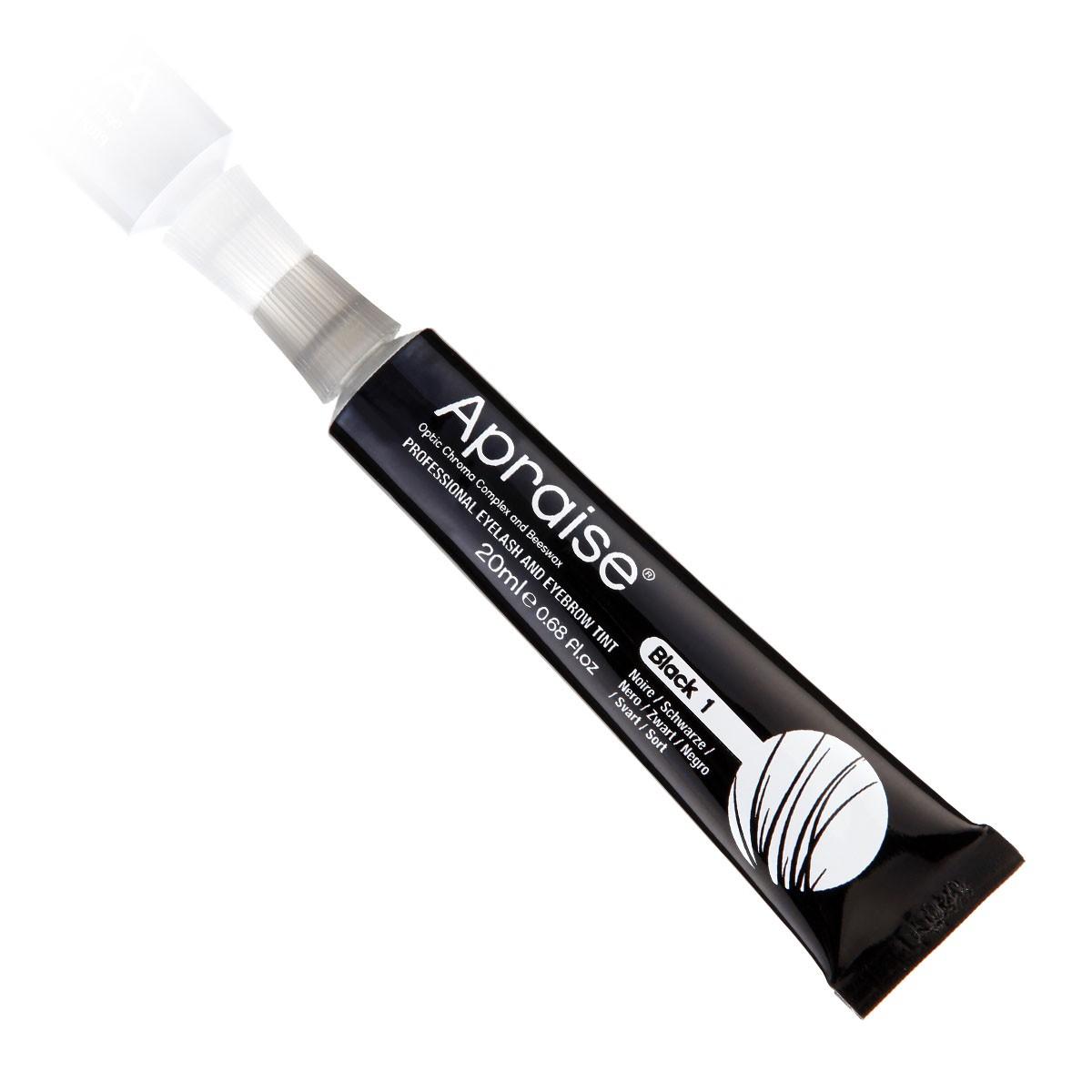 Apraise Tinta Cilios e Sobrancelhas 20ml - 1.0 Black (Preta)