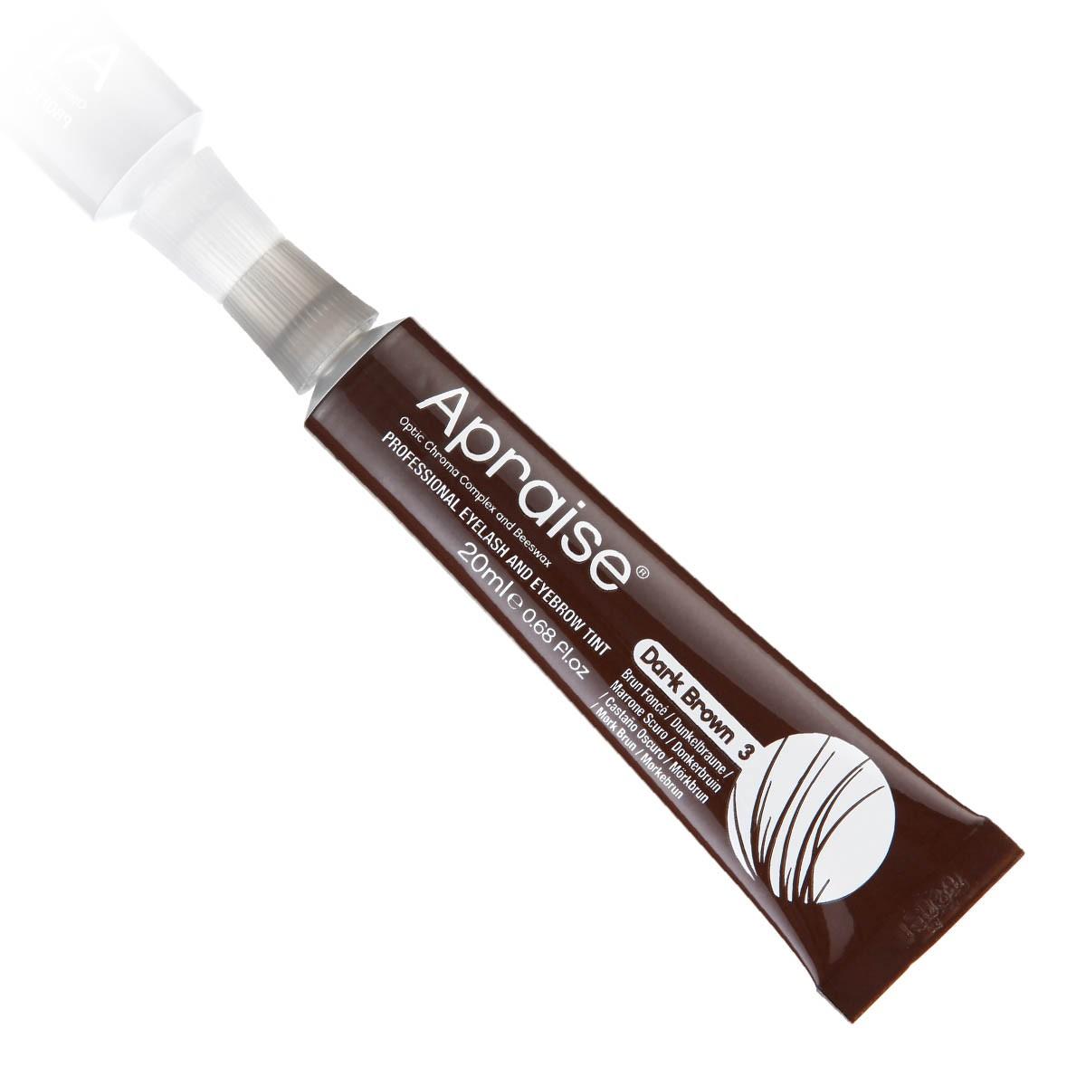 Apraise Tinta Cilios e Sobrancelhas 20ml - 3.0 Dark Brown