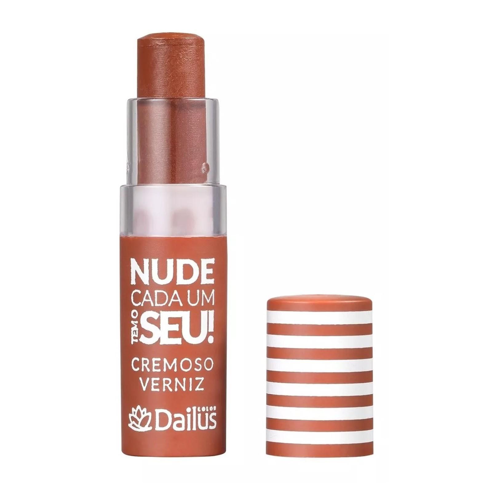 Batom Cremoso Verniz Nude - 12 Caramelo