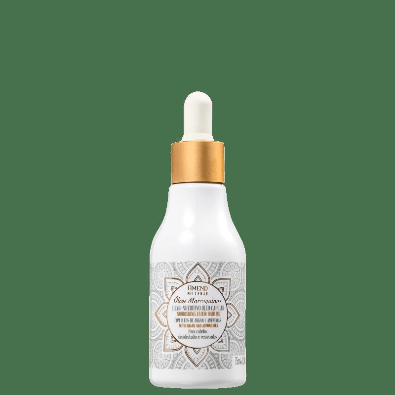 Elixir Nutritivo Oleo Capilar Oleos Marroquinos Millenar 75ml