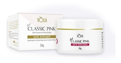 Gel Volia Classic Pink 24gr