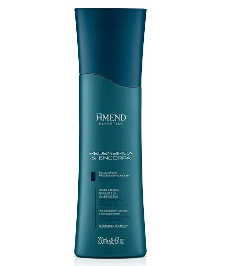 Shampoo Redensificador Amend Expertise Redensifica & Encorpa 250ml
