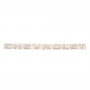 Adesivo Chevrolet cor Prata Tampa Traseira - S10 2009 á 2011 GM 94703967