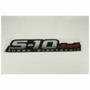 Emblema S10 4x4 Turbo Electronic  - S10 2009 á 2011 GM 94703948