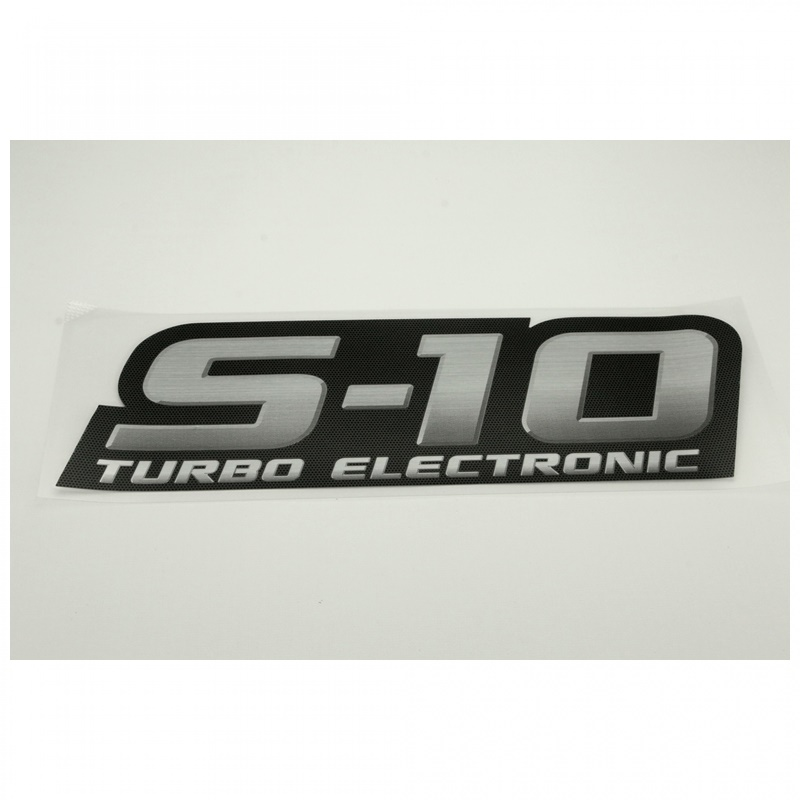 Emblema S10 Turbo Electronic  - S10 2009 á 2011 GM 94703950