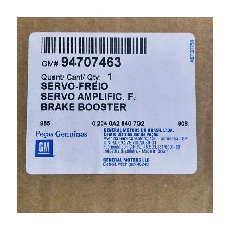 Servo Freio Hidrovácuo - S10 / Blazer Todos 1995 á 2011 GM 94707463