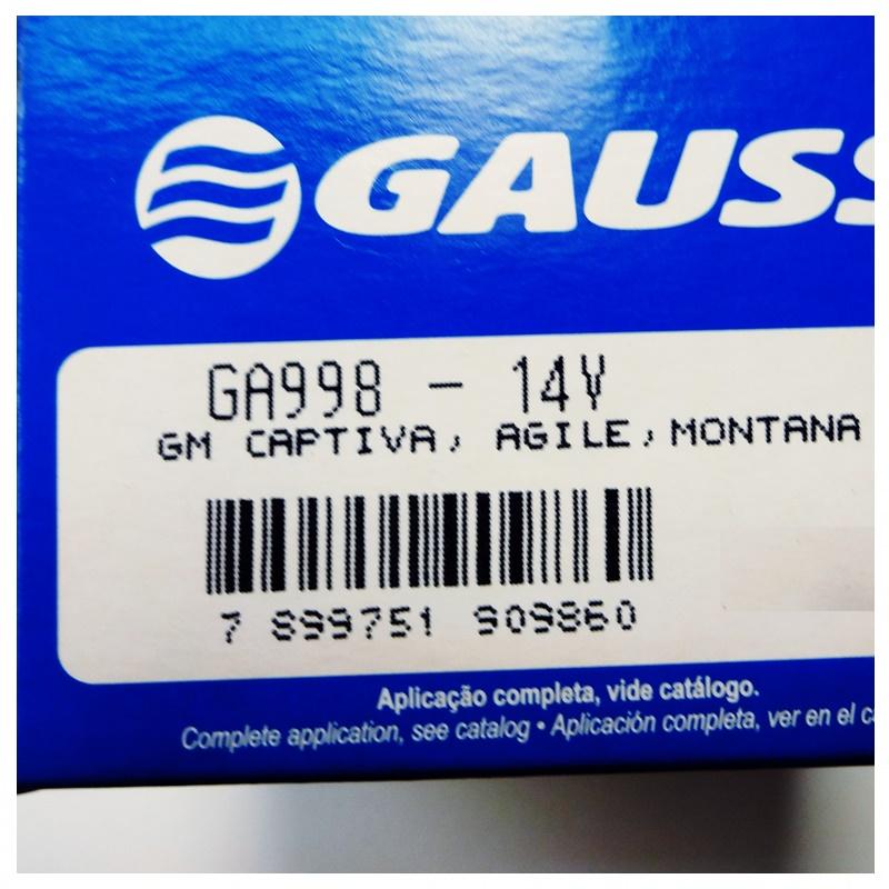 Regulador Voltagem - Agile 1.4 2010 á 2014 - Montana 1.4 2011 á 2021 - Captiva 2.4/3.0
