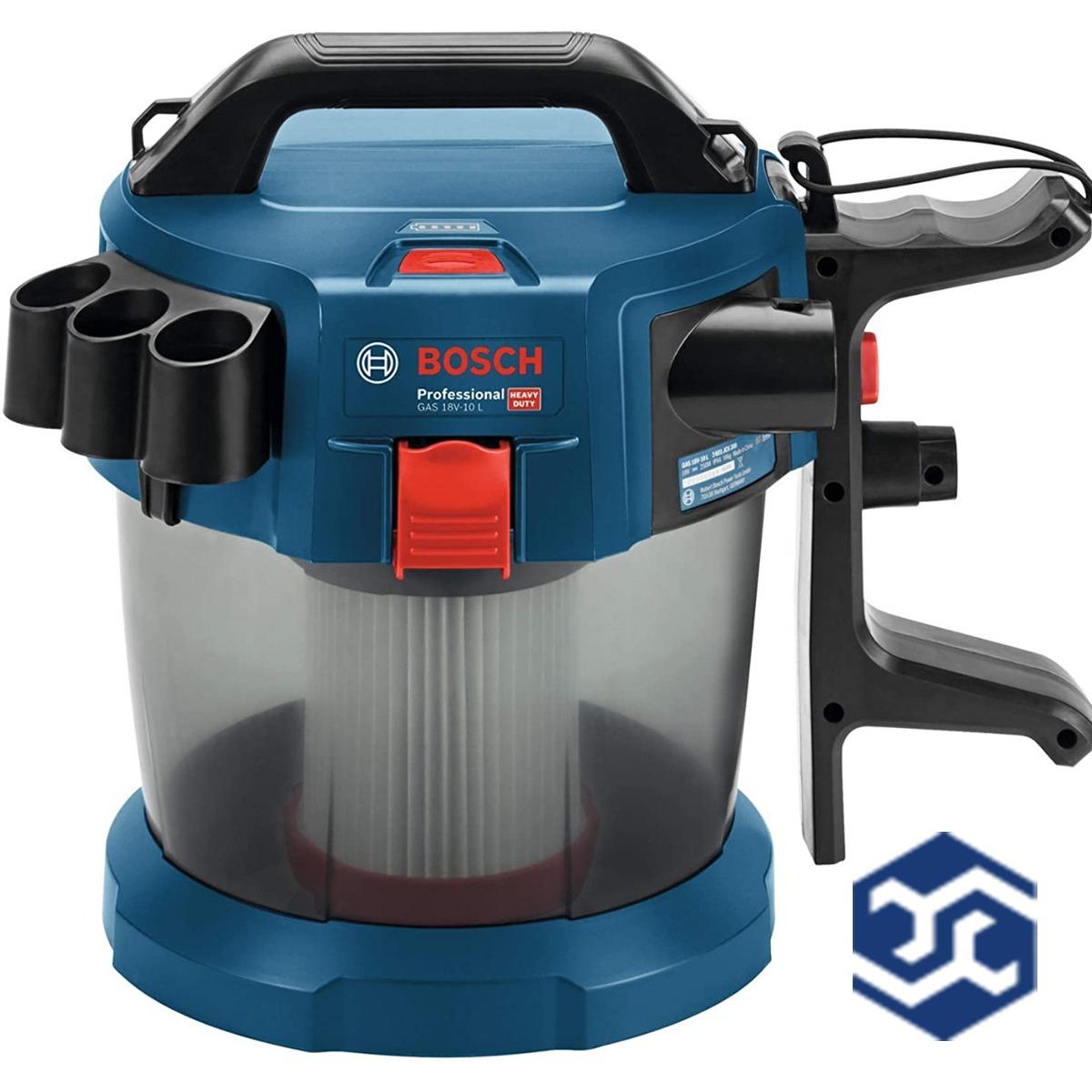 Aspirador Pó E Água Gas 18v-10l Bosch C/ Bate E Carreg