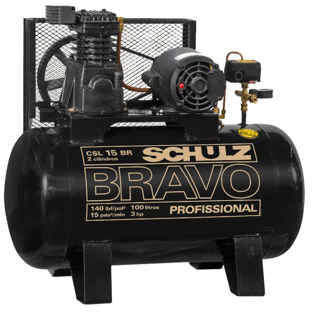 COMPRESSOR DE AR BRAVO CSL 15/200 MONO 220V